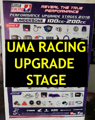 Uma Racing Modification Upgrade Performance Catalog