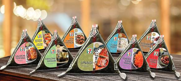 7-Eleven Introduces All-New & Exclusive Ready-To-Eat Onigiri Flavours