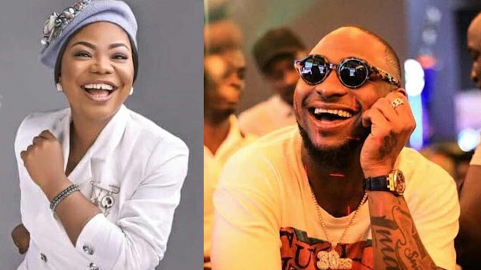 Davido pours out his love for Mercy Chinwo