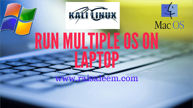 How To Run Multiple OS On Laptop?