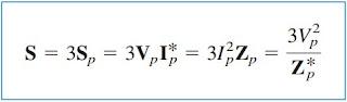 Power Formula for Balanced System