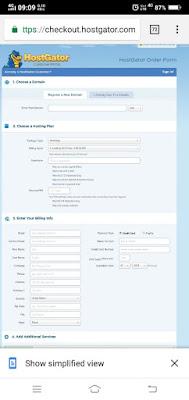 how to get free hostgator hosting