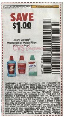 colgate rinse coupon
