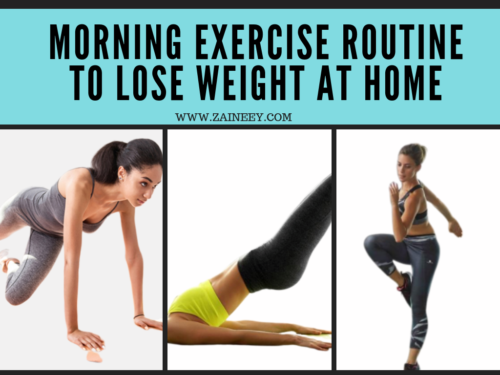 lose weight exercise routine at home