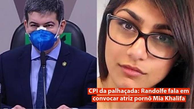 CPI da palhaçada: Randolfe fala em convocar atriz pornô Mia Khalifa
