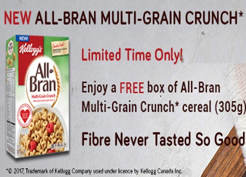 Free All-Bran Multi-Grain Crunch Cereal Coupon