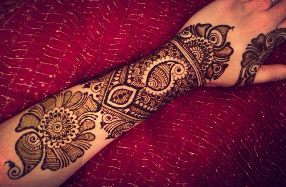 Mehndi Designs For Dulha : Latest new ultimate beautiful dulhan mehndi designs and art