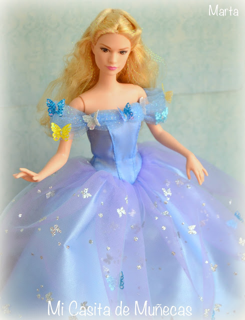 Cenicienta 2015, movie, película, cinderella, lady tremaine, mattel dolls, barbie, hada madrina, mi casita de muñecas