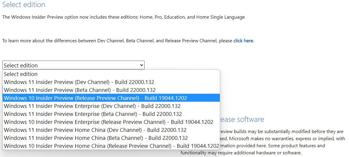 Download ISO Windows 10 Versione 21H2
