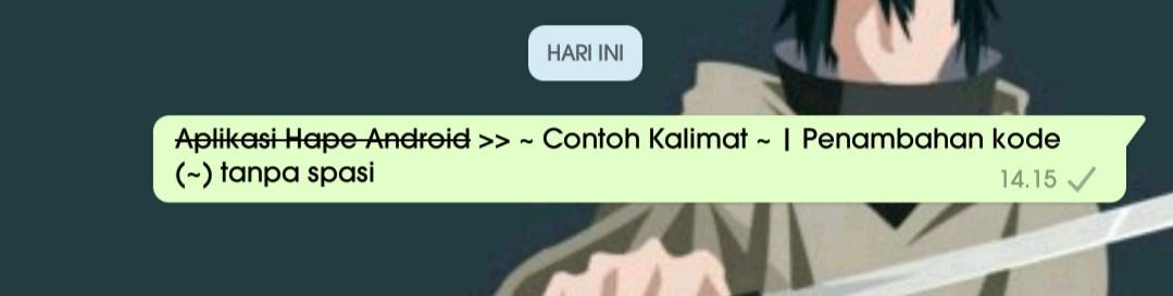 3 Cara membuat variasi tulisan unik di whatsapp