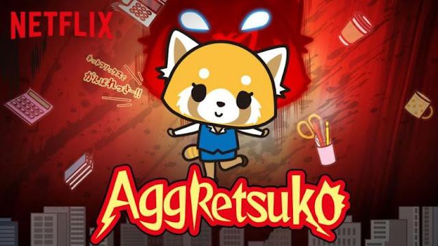 Aggretsuko animé à voir sur Netflix