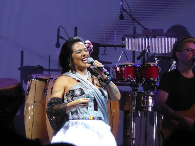 Lila Downs in Prospect Park, June 2017