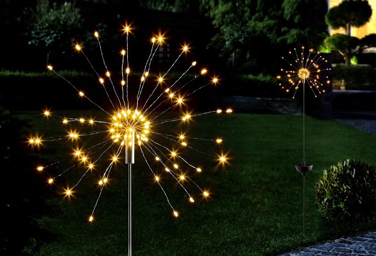 Mikro-LED Licht für den Garten