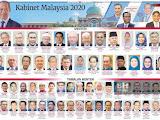 Barisan Menteri Kabinet Baru 2020
