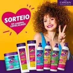 Promoção Capicilian 2019 Concorra Kit Produtos Lovecachos
