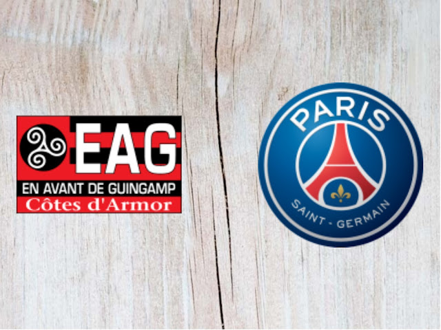Guingamp vs Paris Saint-Germain  Full Match & Highlights - 18 August 2018