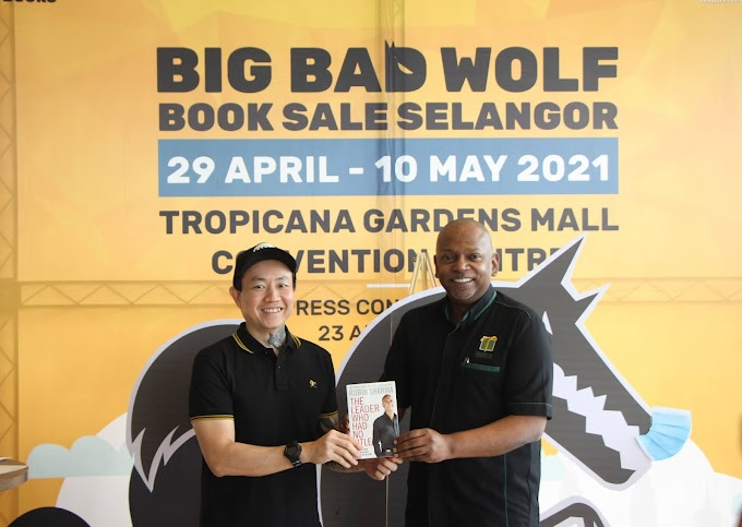 """THE WOLF IS BACK! AND KICKS OFF THE """"MALAYSIA TOUR"""" HYBRID BOOK SALE."""