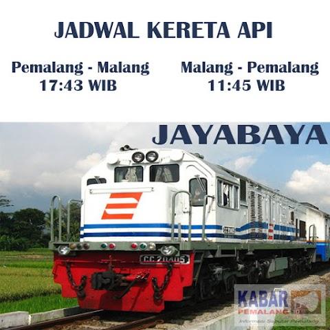 Jadwal Kereta Api Pemalang - Malang