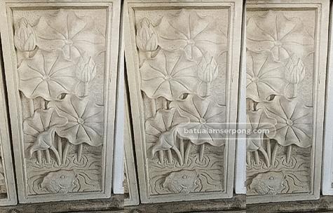 jual relief ukiran batu alam