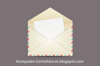 contoh surat pengiriman delegasi