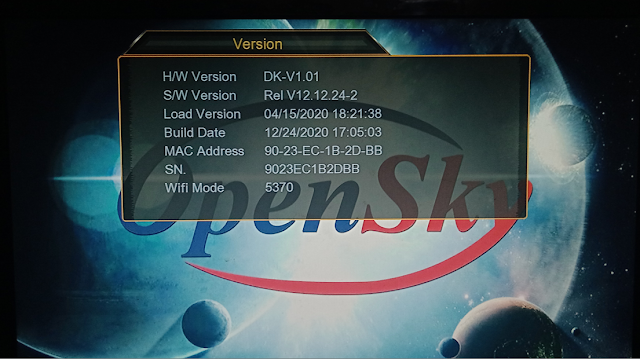 OPENSKY HD 265M 1507G 1G 8M NEW SOFTWARE WITH ECAST & NASHARE PRO OPTION