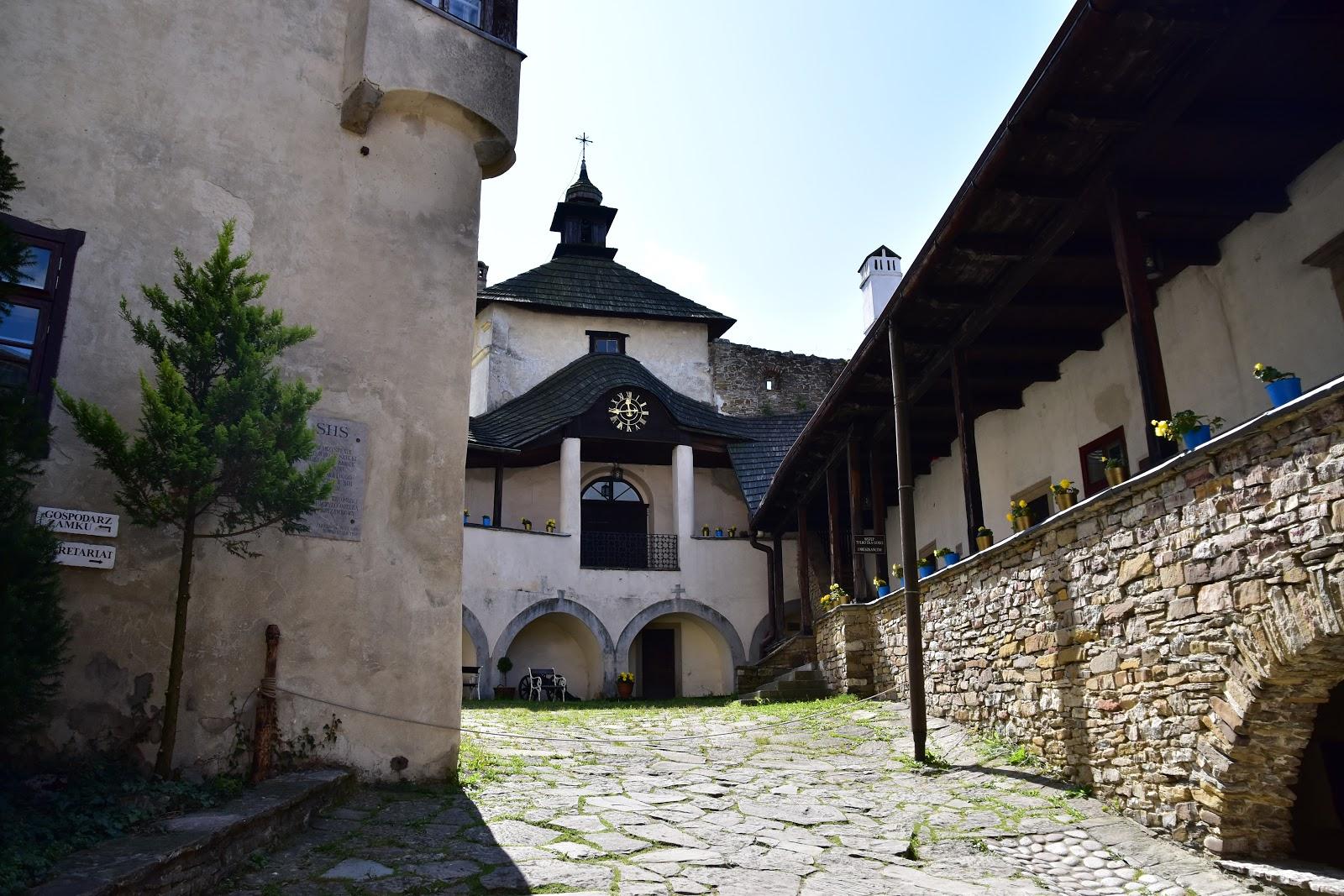 Czorstynský zámek Polsko