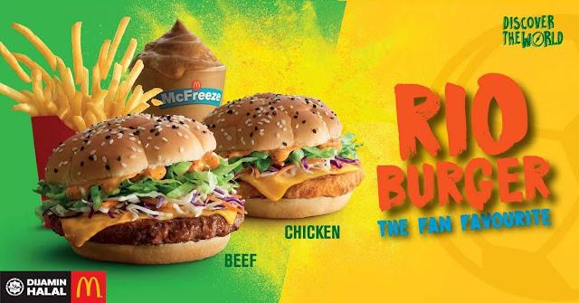mcdonalds rio burger