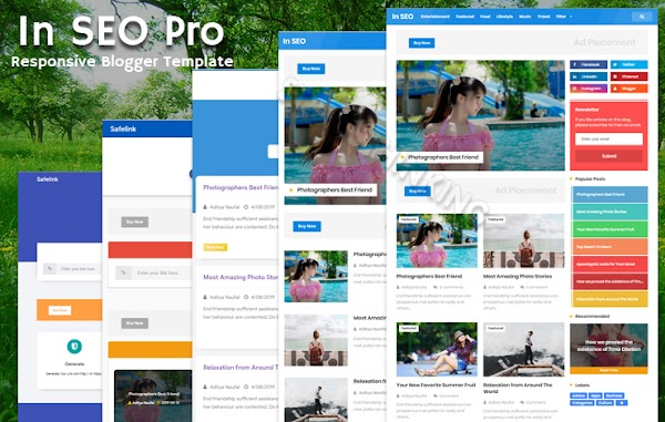 In SEO Pro Original Responsive Blogger Template
