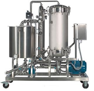 filtro tangencial processo produçao vinho