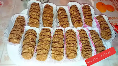 حلويات العيد . قاطو بالقوفريط  اقتصادي