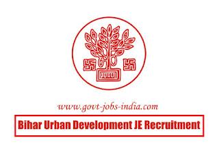 Bihar Urban Development JE Recruitment