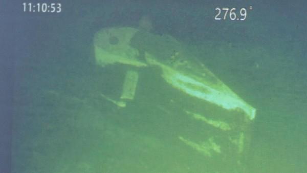 Penampakan Bagian KRI Nanggala-402 yang Ditemukan di Bawah Laut