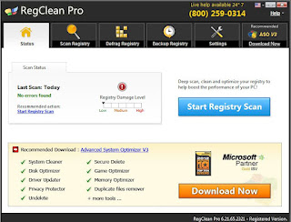 RegClean Pro v6.2 Full Version with Serial key