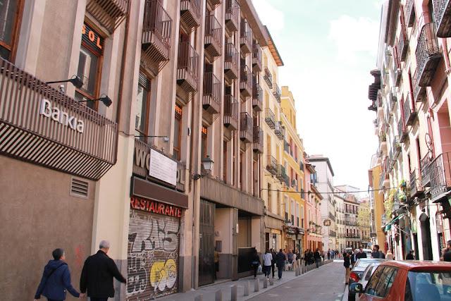 Madrid, Espanjan pääkaupunki - ruokamatkalla ilman lapsia