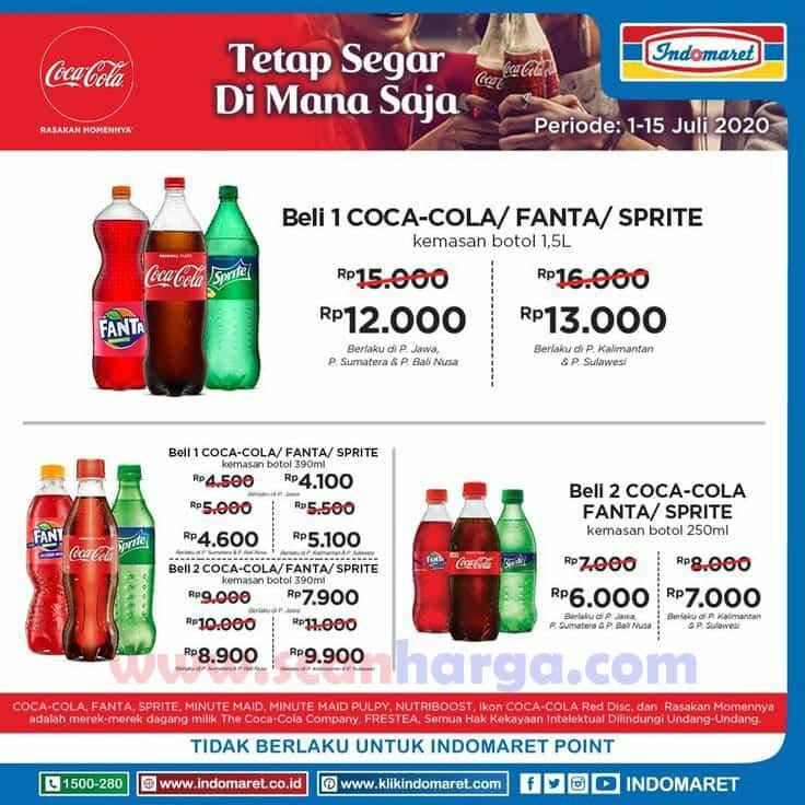 Promo Indomaret Harga Spesial Produk Coca Cola Periode 1 - 15 Juli 2020 1