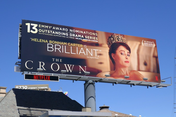 Helena Bonham Carter Crown 2020 Emmy nominee billboard