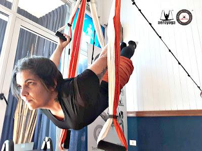 formação yoga aéreo online