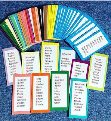 20. Türchen: Lernwörter Teil 5 - letzter Teil