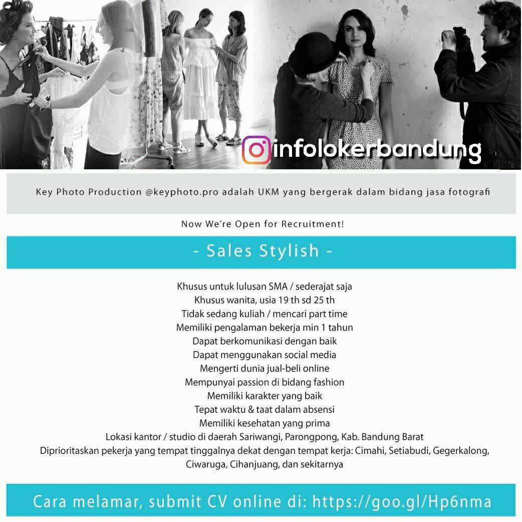 Lowongan Kerja Sales Stylish Key Photo Production Bandung Juli 2018