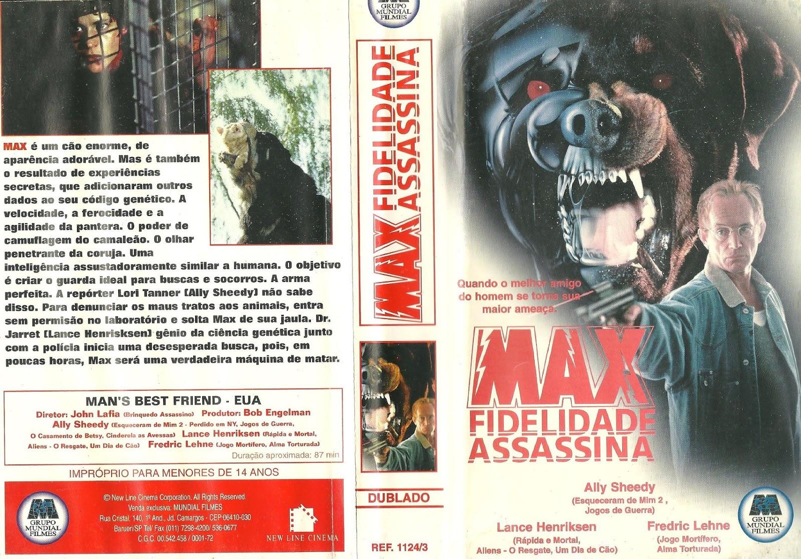 Resultado de imagem para Max Fidelidade Assassina (1993)