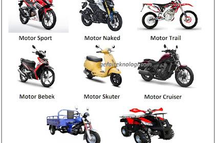 Jenis-Jenis Kendaraan pada Otomotif (Motor, Mobil, Alat Angkutan, Alat Berat, Alat Pertanian)