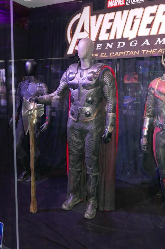 Chris Hemsworth Avengers Endgame Thor costume