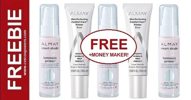 FREE Almay Primer CVS Coupon Deal 8-16-8-22