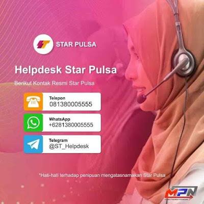 Kontak CS Star Pulsa CV. Multi Payment Nusantara