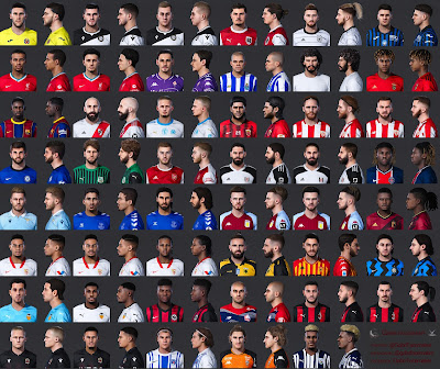 PES 2021 Mega FacePack 47 Faces