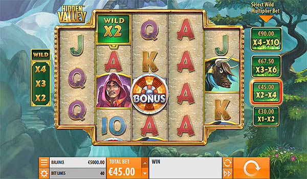Main Slot Gratis Indonesia - Hidden Valley (Quickspin)