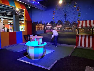 Putters Adventure Golf at Superbowl Warrington