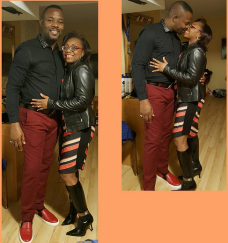 actor and comedia Okey Bakassi  share the picture of her wife