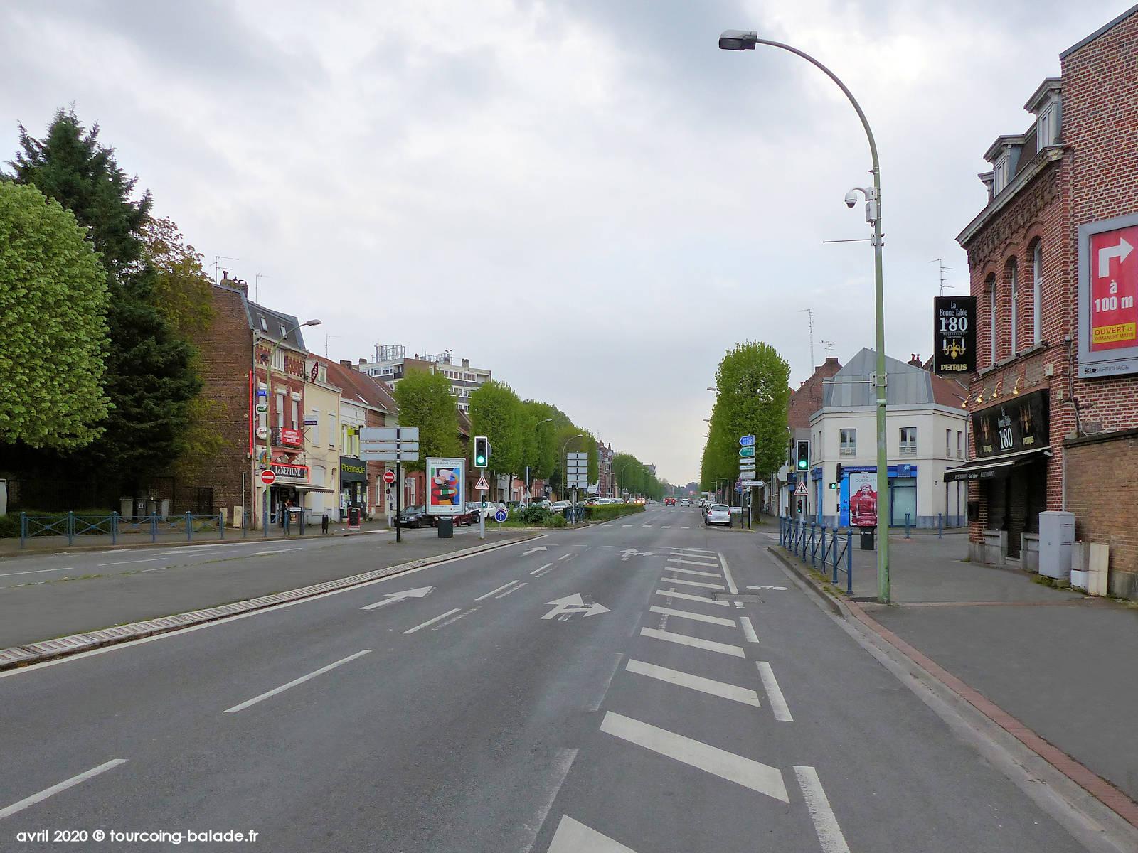 Boulevard Gambetta, Tourcoing, 2020