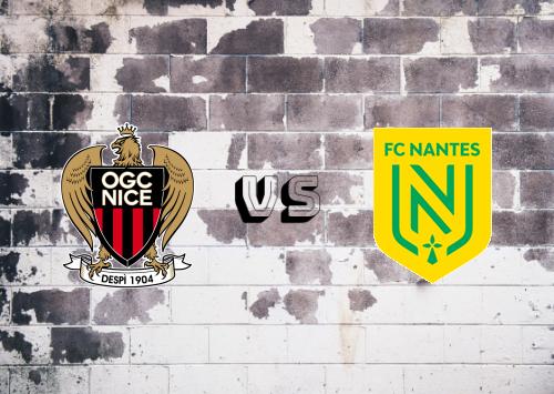 Nice vs Nantes  Resumen